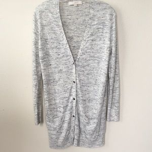 Loft Long Cardigan w/Pockets, LP